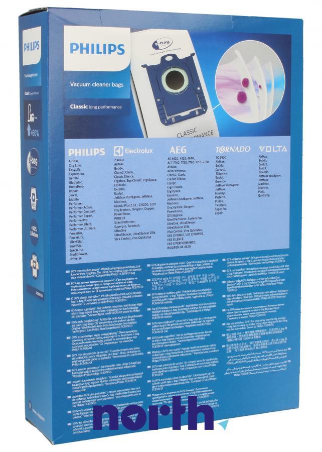 Worki S-Bag Classic Long Performance FC8021/03 4szt. do odkurzacza Electrolux,1