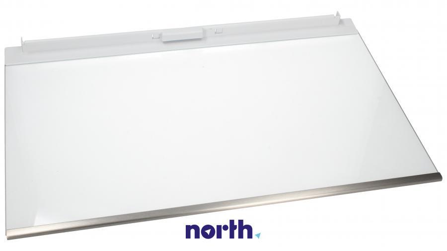Półka szklana z ramkami do komory chłodziarki do lodówki Siemens 00448569,1