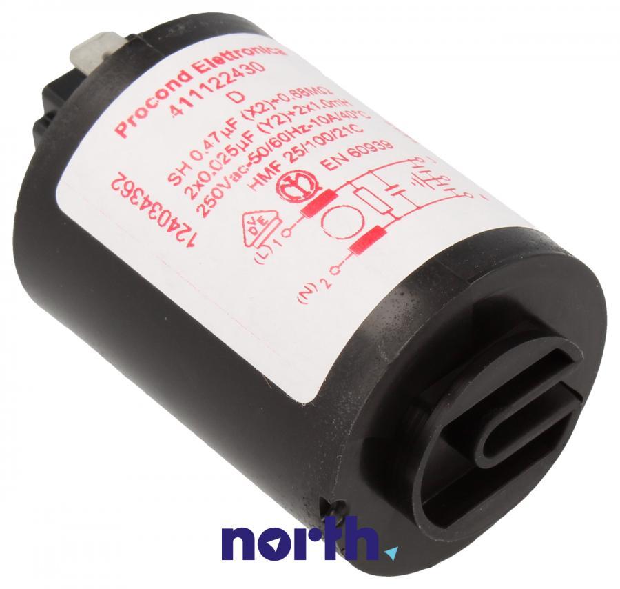 Kondensator rozruchowy do pralki Electrolux 1240343622,0
