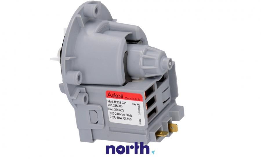 Silnik pompy odpływowej do pralki LG 50266,1
