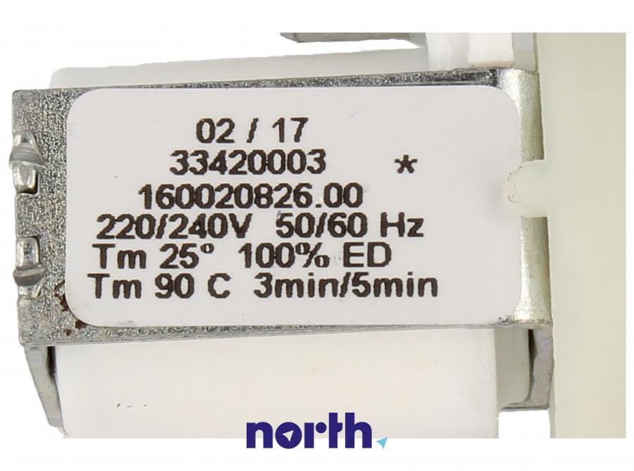 Elektrozawór do zmywarki Indesit 482000029818,3