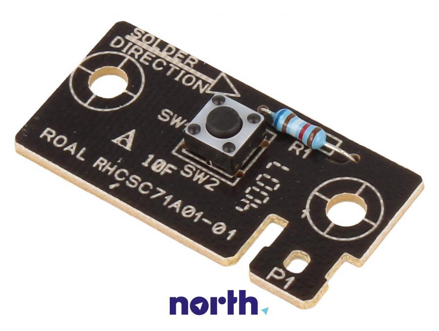 Płytka z przełącznikiem do zmywarki Indesit 482000029789,0