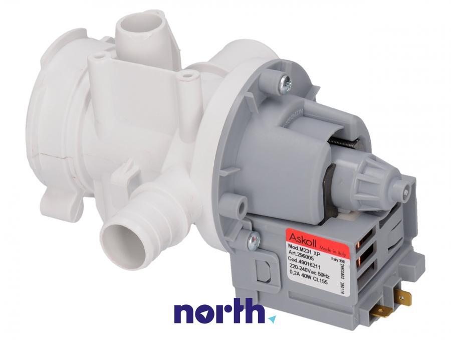 Pompa odpływowa kompletna (silnik + obudowa) do pralki Samsung za DC9011110K,1