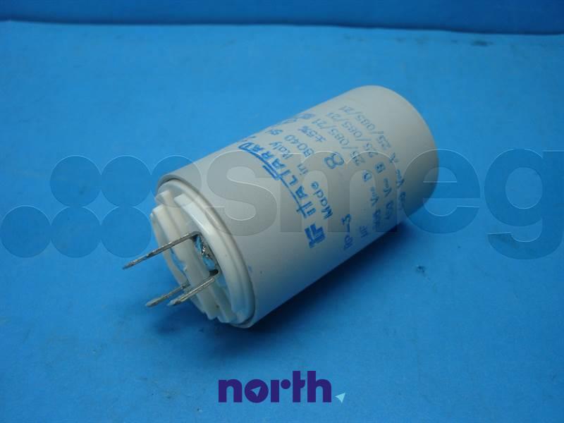 Kondensator rozruchowy do pompy myjącej do zmywarki Smeg 811770036,1