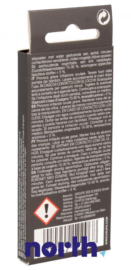 Tabletki czyszczące do ekspresu Krups XS3000 XS300010,1