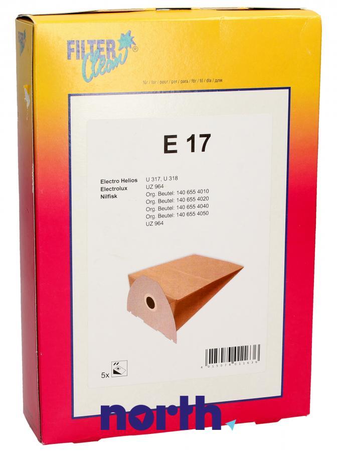 Worki E17 5szt. do odkurzacza Electrolux,0