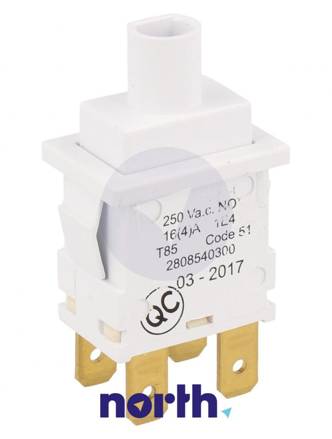 Włącznik sieciowy do pralki Beko 2808540300,2