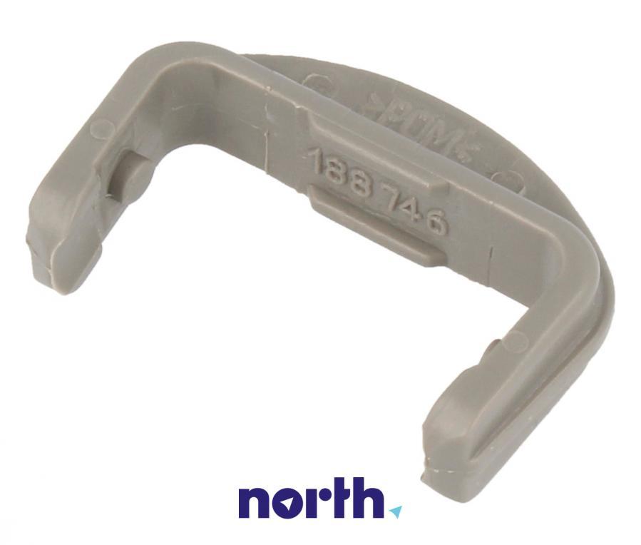 Przedni ogranicznik prowadnicy kosza do zmywarki Beko 1887460200,0