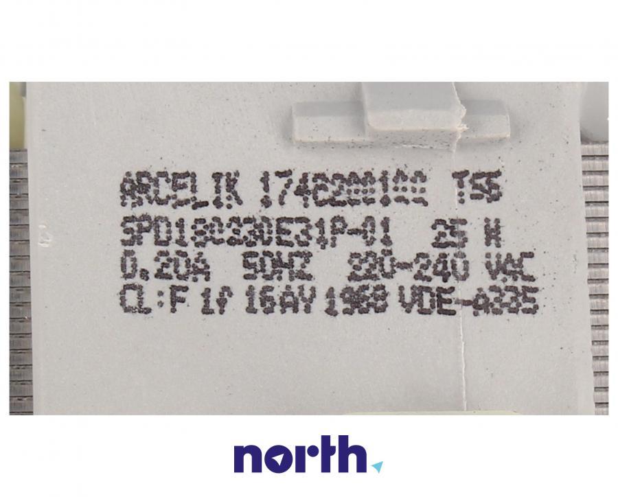 Pompa odpływowa do zmywarki Whirlpool 481236018567,3