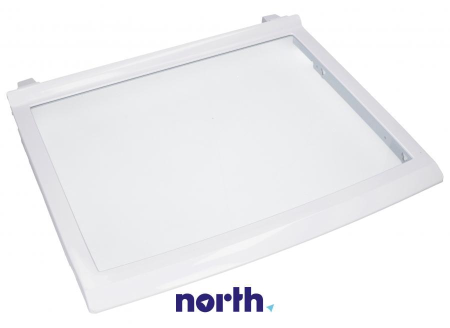 Półka szklana z ramkami do komory chłodziarki do lodówki LG 5027JA1075D,0