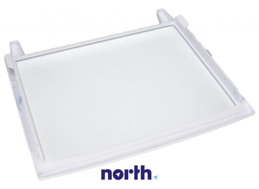 Półka szklana z ramkami do komory chłodziarki do lodówki LG 5027JA1075D,1