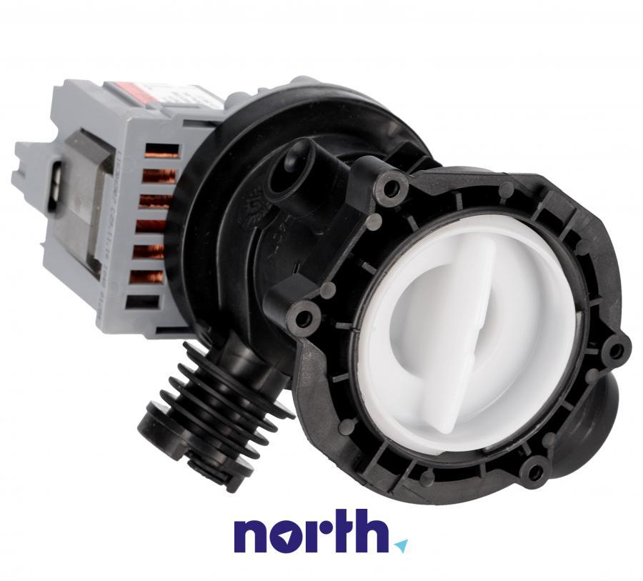 Pompa odpływowa kompletna (silnik + obudowa) do pralki Indesit 482000022995,0