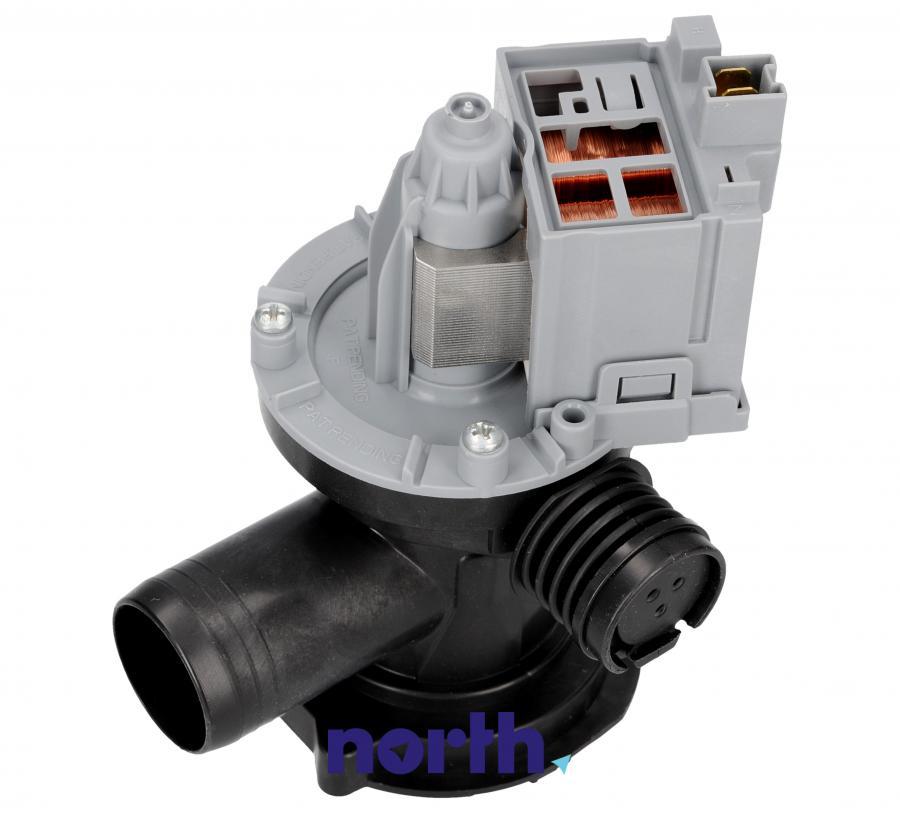Pompa odpływowa kompletna (silnik + obudowa) do pralki Indesit 482000022995,2