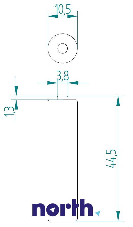 Bateria alkaliczna AAA VARTA (4szt.),1
