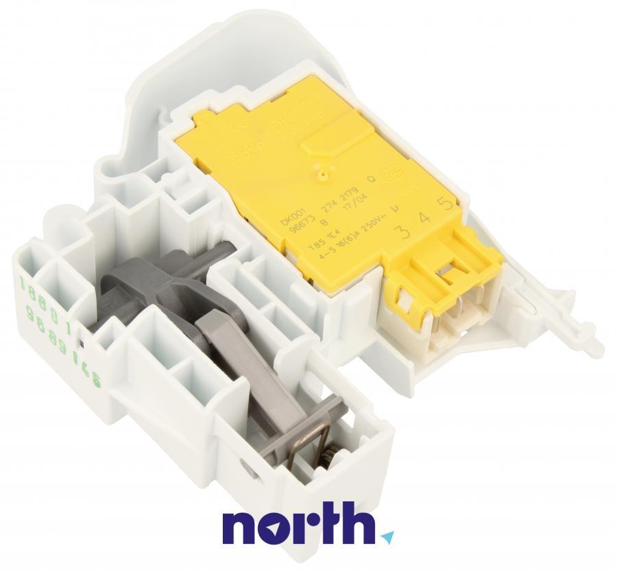Blokada elektromagnetyczna otwarcia drzwi do pralki Indesit 482000030714,3