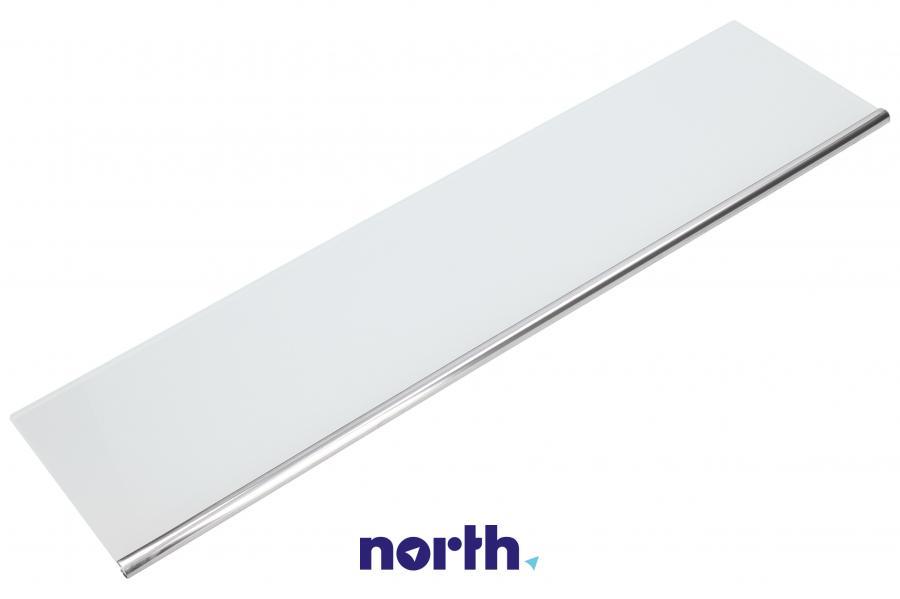 Płyta szklana półki dolnej na drzwi chłodziarki do lodówki Liebherr 727154500,0