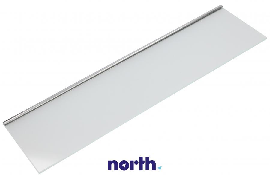 Płyta szklana półki dolnej na drzwi chłodziarki do lodówki Liebherr 727154500,1
