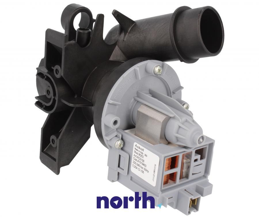 Pompa odpływowa kompletna (silnik + obudowa) do pralki Candy 41018403,1