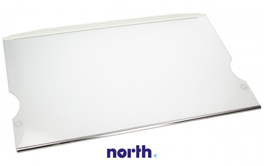 Półka szklana z ramkami do komory chłodziarki do lodówki Liebherr 727243200,0