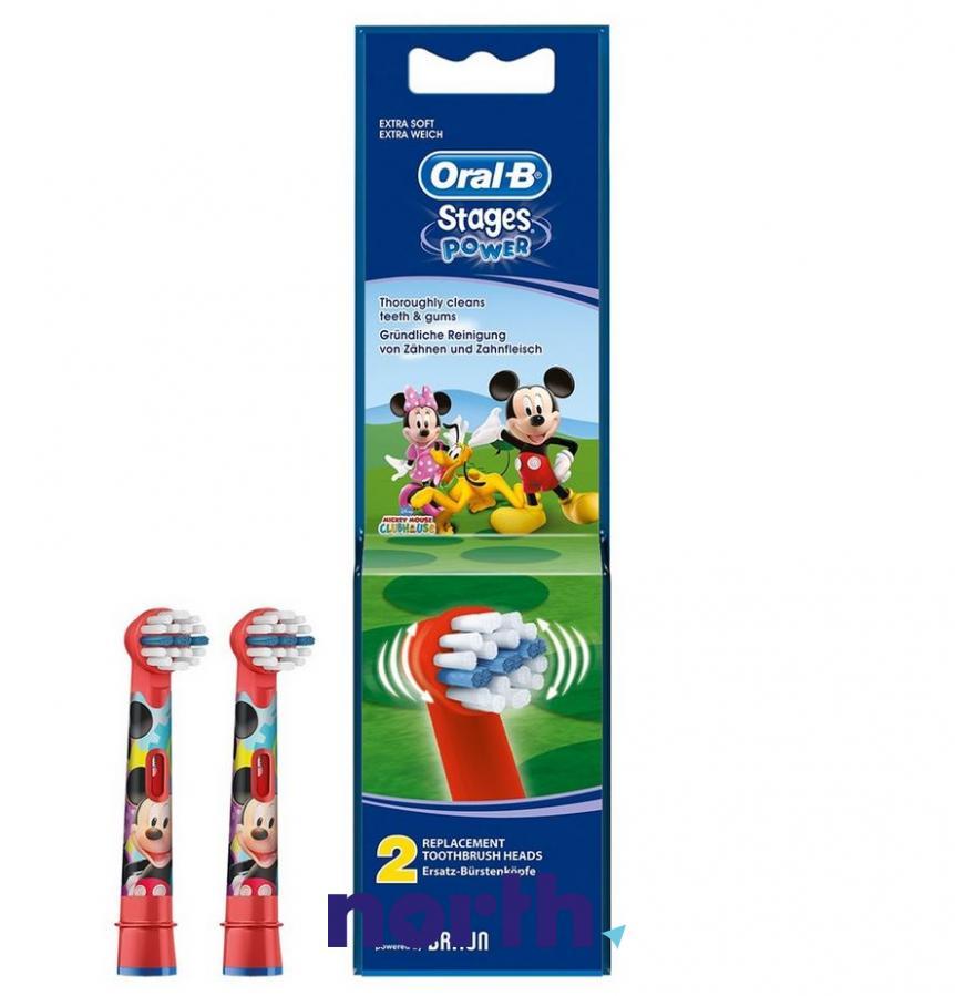 Końcówki Stages Power (2szt.) do szczoteczki do zębów Oral-B Kids EB10-2 64706721,0