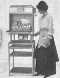 Pierwsza zmywarka zosta�a zaprojektowana przez Josephine Cochrane.