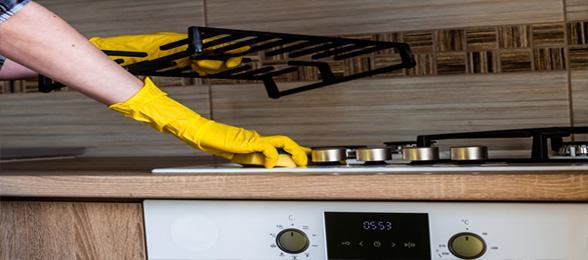 Jak wyczyścić kuchenkę